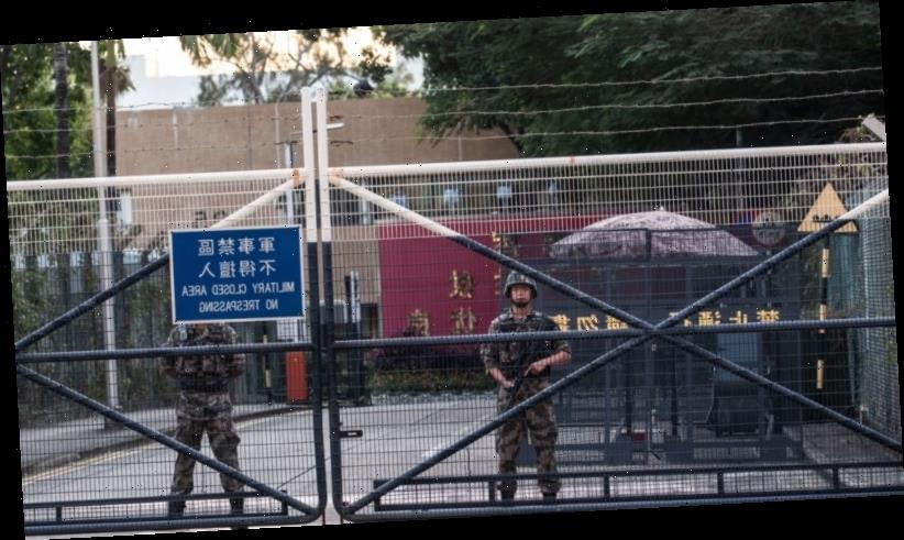 'First step': Chinese soldiers on Hong Kong streets raises fears