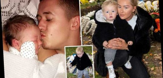 My toddler helped bury his daddy after stabbing – now I take him to play football on his grave – The Sun