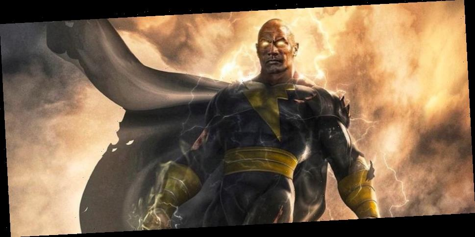 'Black Adam' Will Hit Theaters in December 2021, First Poster Revealed