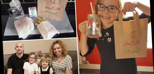 Dad cooks up 'McDaddy Smile meals' for his kids because McDonald's was too far away – and completely wins at parenting – The Sun