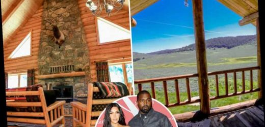 Inside Kanye West and Kim Kardashian's massive ranch in Wyoming they bought for $14 million after snapping up one nearby – The Sun