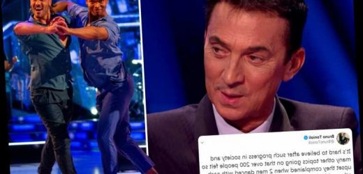 Strictly's Bruno Tonioli says he's 'really upset' by viewer complaints about the same-sex dance routine – The Sun