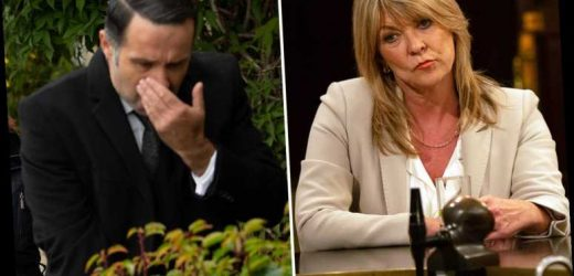 Emmerdale spoilers: Kim Tate discovers the truth about Graham and Andrea and vows to expose them
