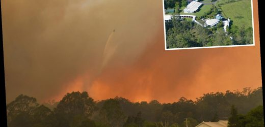 Russell Crowe's mansion under threat from 'catastrophic' Australian bushfires as people warned it's 'too late' to flee – The Sun