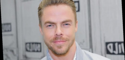 Derek Hough Finds Humor in a Recent Health Scare