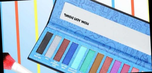 The Hot Topic x 'Friends' Makeup Palette of Your Dreams Now Exists
