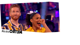 Strictly Come Dancing's Motsi Mabuse references affair in front of Neil Jones