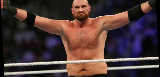 Tyson Fury to appear in WWE again this Friday on SmackDown Live for homecoming show with Strowman rematch hinted – The Sun