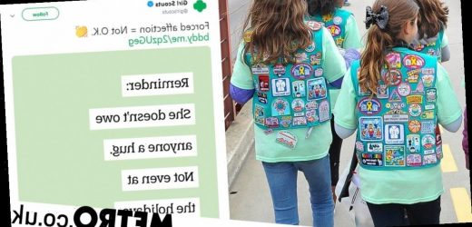 Girl Scouts says forcing girls to hug family gives wrong idea about consent