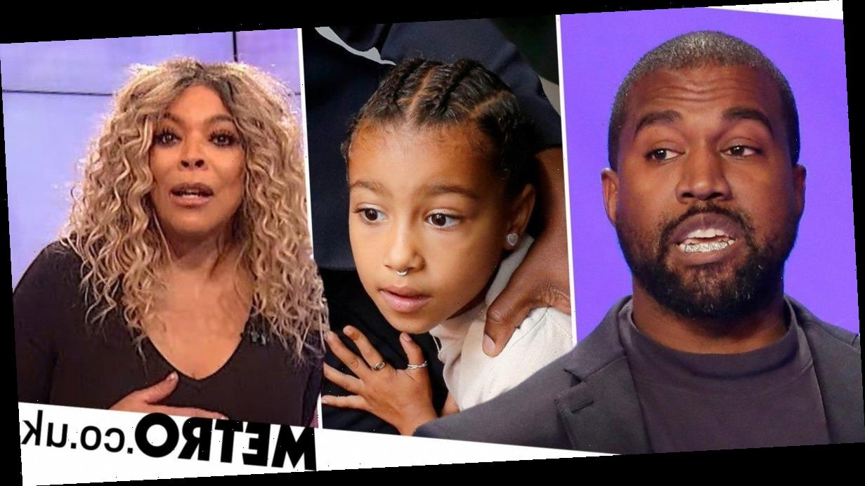 Wendy Williams questions why Kanye West lets North have nose ring but not makeup