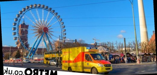 Man crushed to death by rollercoaster carriage at Christmas market in Berlin