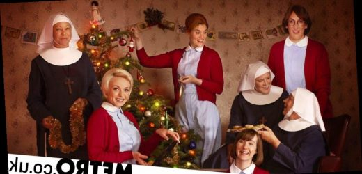 Call The Midwife cast 'haunted by ghost' while filming Christmas Special