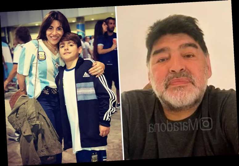 Diego Maradona 'getting killed from inside' says daughter on social media, raising fears over Argentina legend's health – The Sun
