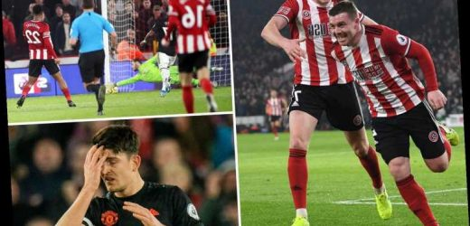 Sheffield United 3 Man Utd 3 LIVE REACTION: Incredible game at Bramall Lane sees hosts snatch dramatic late equaliser – The Sun