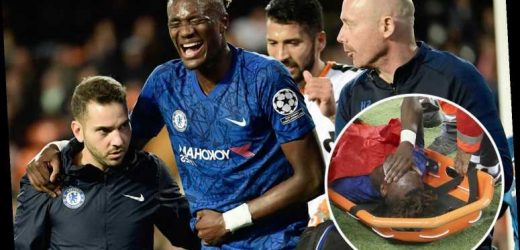 Chelsea striker Tammy Abraham reveals 'It's much better' after hip injury agony vs Valencia – The Sun