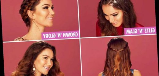 Look good for kisses under the mistletoe this Christmas with our simple guide to standout party hairstyles – The Sun
