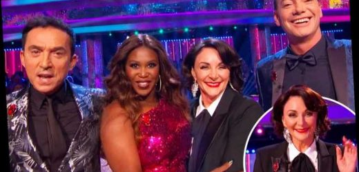 Strictly's Shirley Ballas puts on brave face as she returns to the show four days after DD breast implants are removed – The Sun