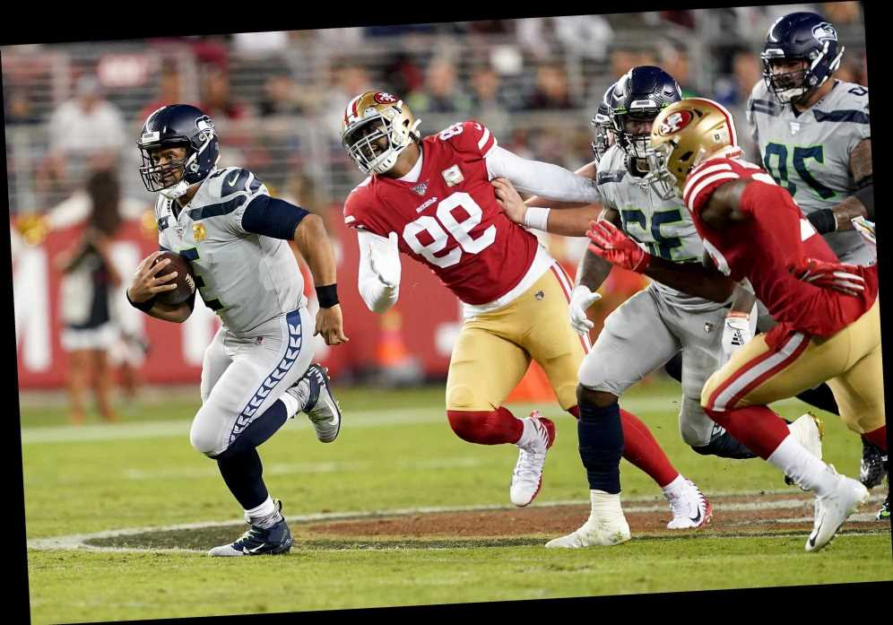 Russell Wilson stars as Seahawks beat 49ers in ovetime classic