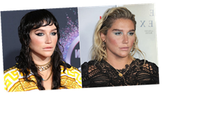 Kesha Wore a Wet-Looking Mullet to the AMAs, and We Might Be Considering the Style After All