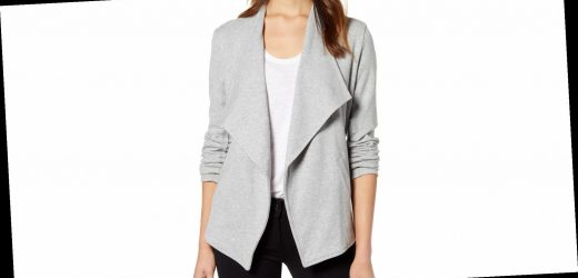 This Top-Rated Knit Blazer Turns a Work Staple Into a Cozy Weekend Item