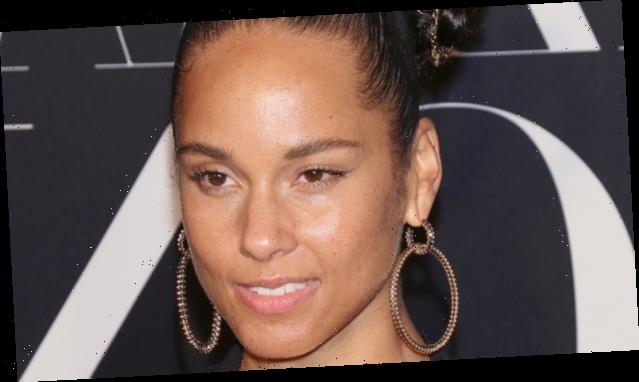Alicia Keys Baby Hairs Are A Literal Work Of Art Worldvoz