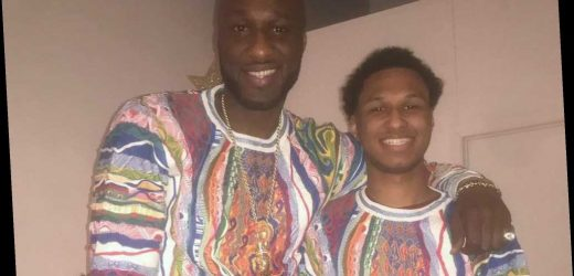 Lamar Odom's son says dad is 'in the sunken place' after engagement