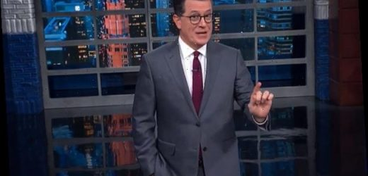 'The Late Show With Stephen Colbert' Talks About A Drug Deal That Was Breaking Bad