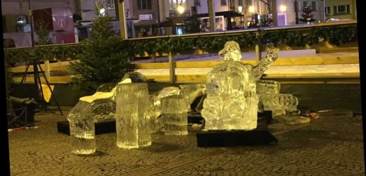 Toddler crushed to death by ice sculpture at Luxembourg Christmas market