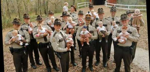 Missouri Sheriff's Department Welcomes 17 Babies This Year: 'Holy Cow'