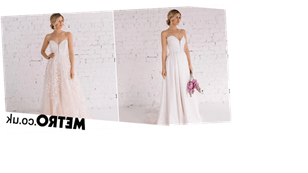 Designer creates reversible wedding dress to give brides options on the big day