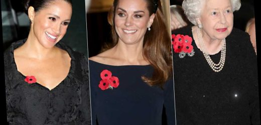 From Queen Elizabeth & Meghan Markle to Kate Middleton: All the Royal Ladies at Remembrance Service
