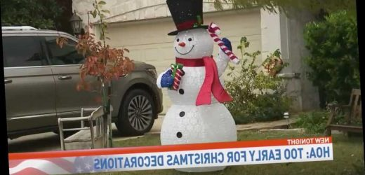 Texas Family Told to Remove Early Christmas Decorations from Yard: 'I Just Found It Crazy'