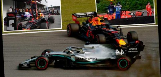 Ferrari crash out as Verstappen claims momentous Brazil F1 GP victory ahead of Gasly and Hamilton – The Sun