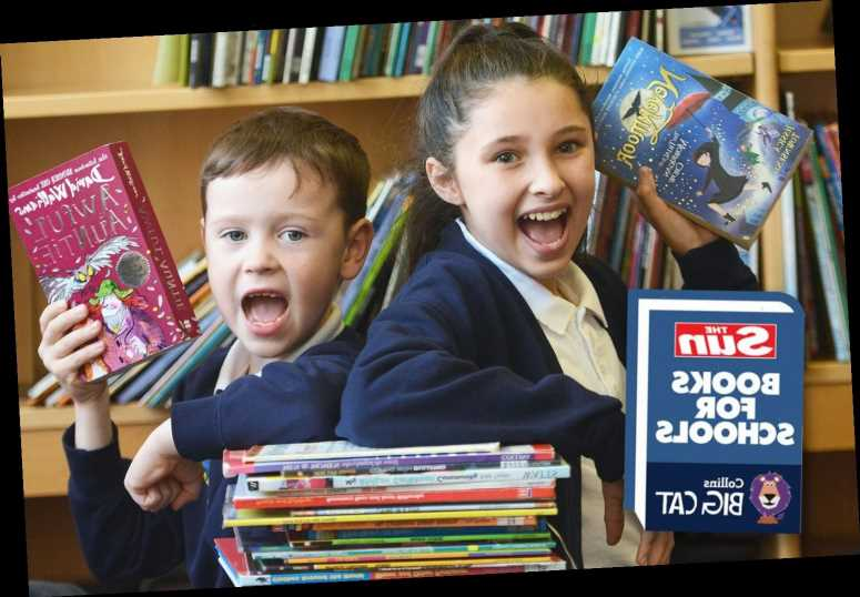 Discover the top titles your school could receive by signing up to our fantastic Books For Schools campaign – The Sun