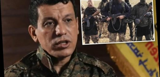 Major ISIS terror attack in West 'expected' after Turkish invasion of Syria, Kurdish general warns