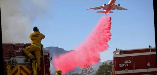 Firefighters make progress battling Maria Fire in California