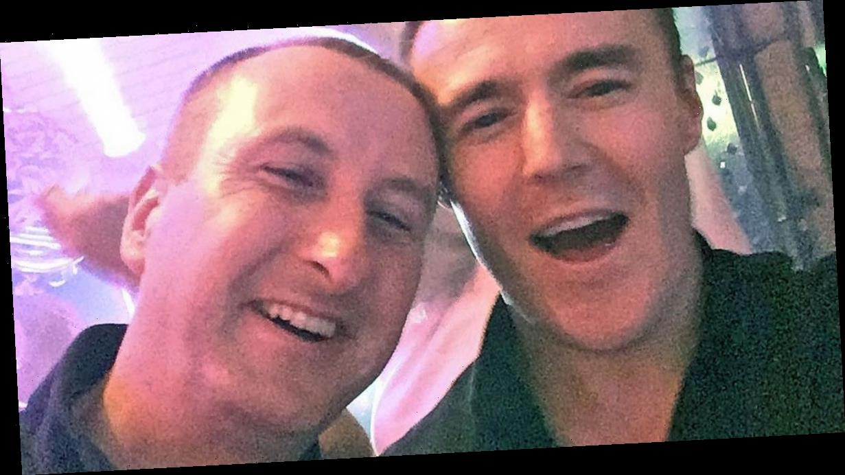 Andy Whyment is natural I'm a Celebrity king says Corrie co-star Alan Halsall