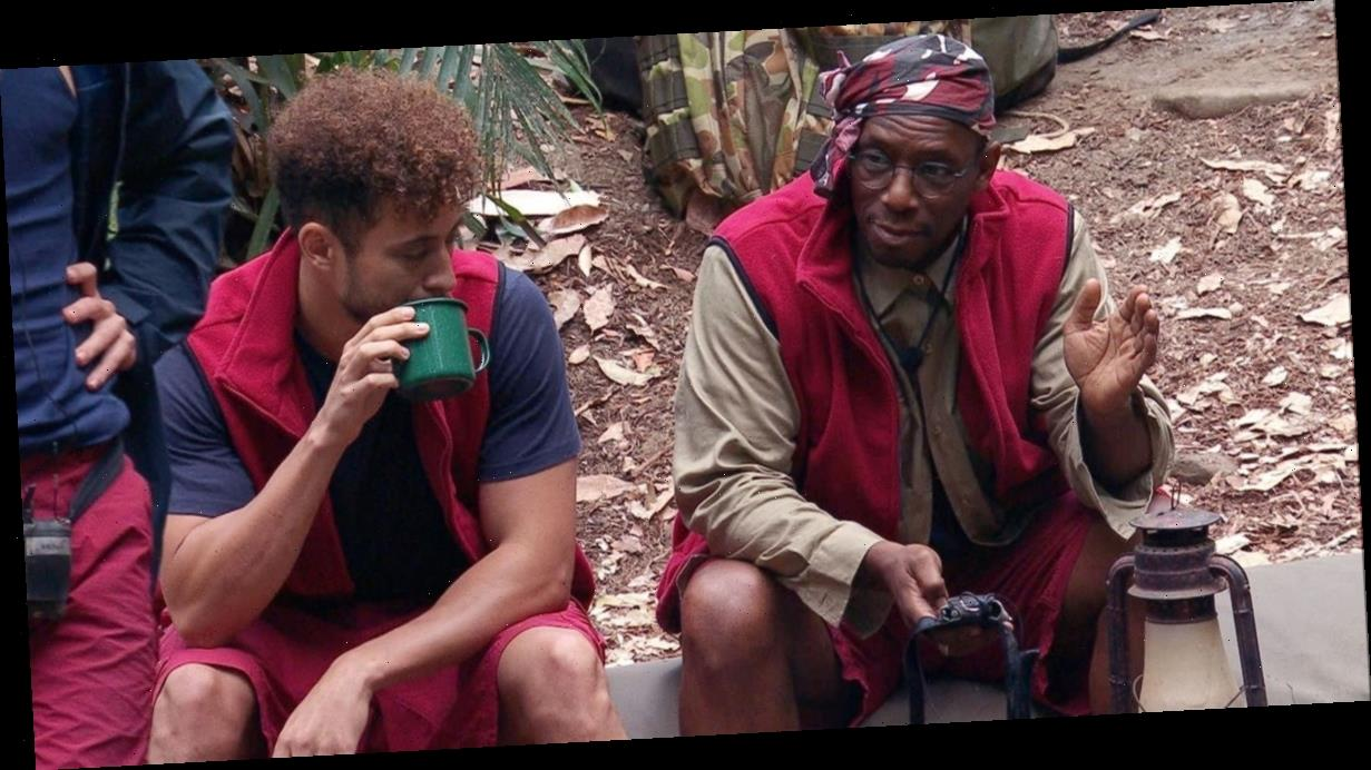 I'm A Celeb's Myles Stephenson horrifies Ian Wright over shower confession