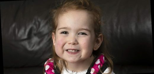 Miracle of girl, 4, saved by surgeons after being born with heart on wrong side