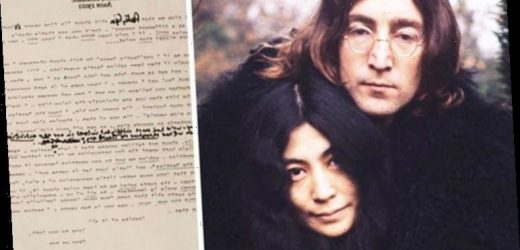 John Lennon: Furious letter calls McCartney an 'INSANE c***t' and BLAMES Linda