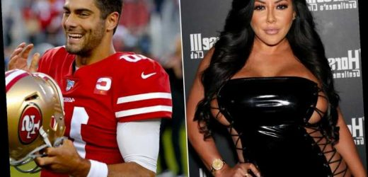 Porn star Kiara Mia salivates over Jimmy Garoppolo's 49ers success