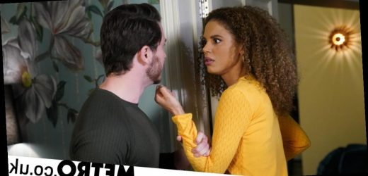 Spoilers: Gray lashes out as Chantelle isn't pregnant in EastEnders