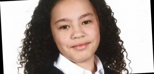 First picture of 10-year-old girl who died after being hit by ambulance