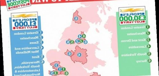 Do YOU live in Britain's luckiest area?
