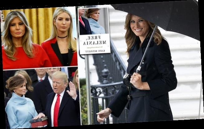 Melania and Donald Trump sleep on separate floors new book claims