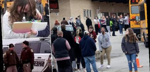 Shots fired inside Wisconsin high school between student and officer