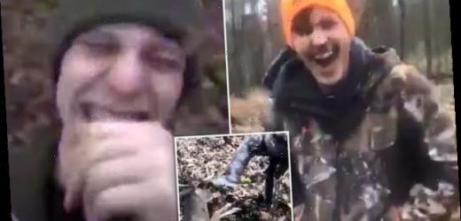Sickening video shows teens torturing deer to death