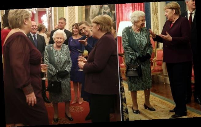 The Queen puts on a brave face to host glittering Nato reception