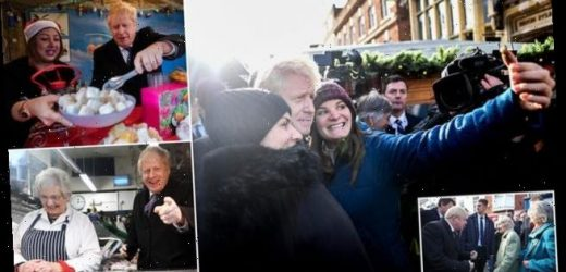 JACK DOYLE on Boris Johnson's visit to Salisbury