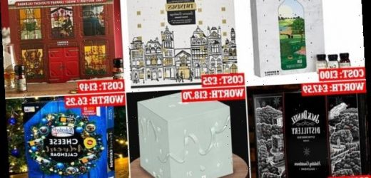 How advent calendars can cost FOUR times more than their contents